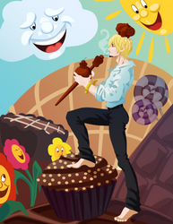 Chocolate King - One Piece by Lutessius