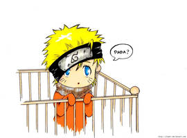 Baby Naruto coloured by Jinpei