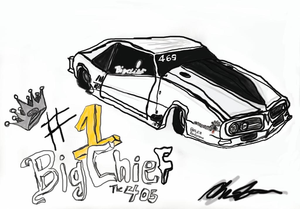the crow mod 405 big chief my car idea  by ghost425 on