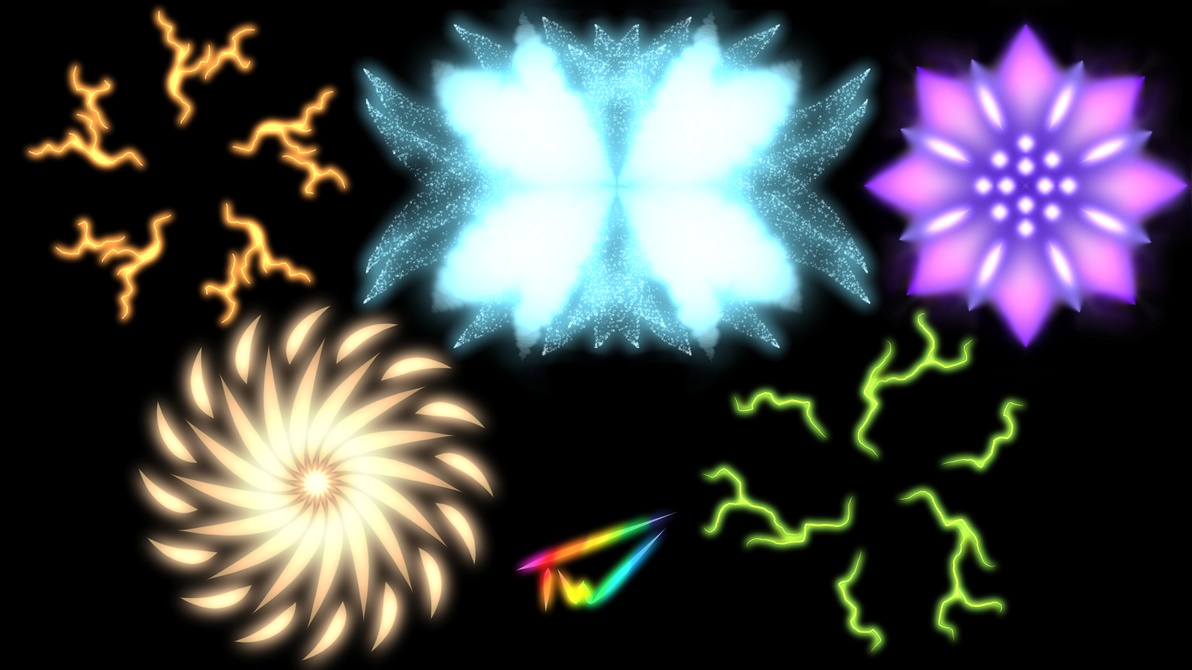 Iterative Practice 19 Glows by TheadoraWolf