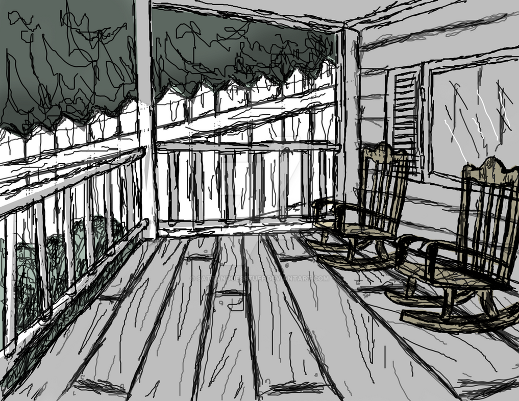 front porch sitting by sattandoesstuff on deviantart
