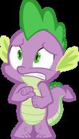 Spike Scared by Spyro4287