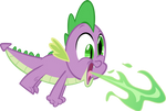 Spike Breathing Fire