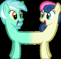 Lyra And Bon Bon Together by Spyro4287