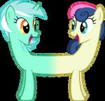 Lyra And Bon Bon Together