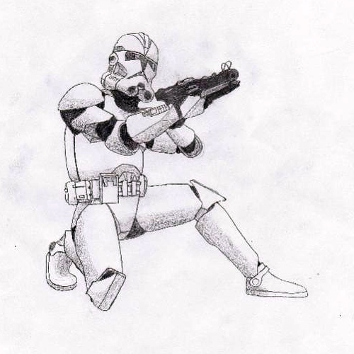 Star Wars - Storm Trooper by tophats96