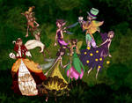 Fairies group picture by Erua