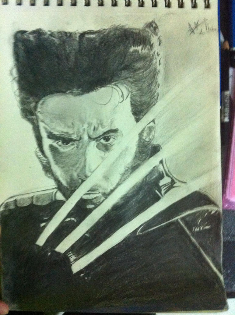 Logan(wolverine) by thiphobia