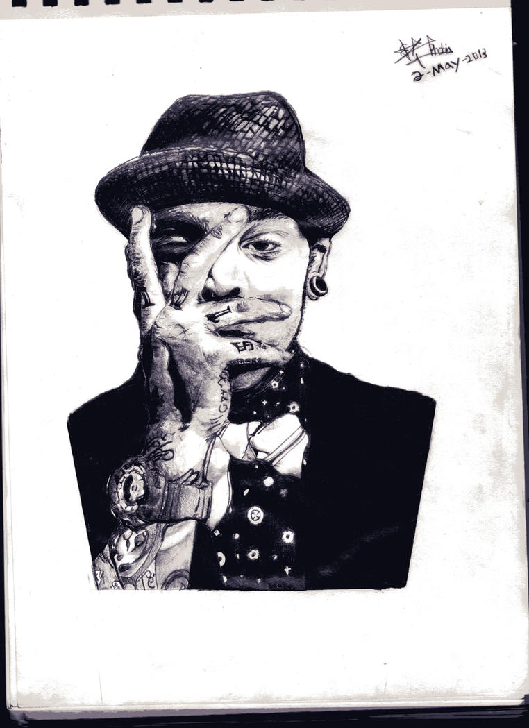 Travie Mccoy (gym class heroes) by thiphobia