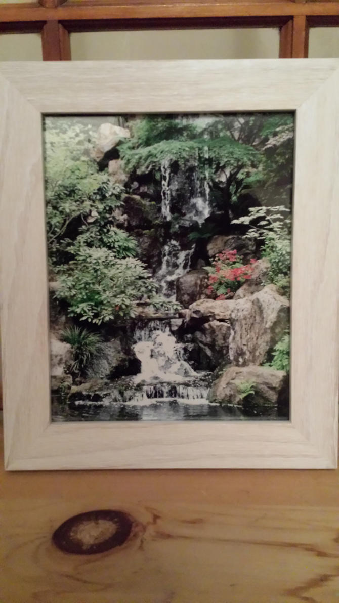 Framed WaterFall by BeanSprout-Photog