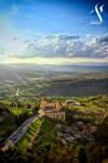 Vue depuis le haut du Rocher by Skander-BENMOHAMMED