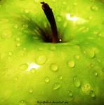 Green Apple by BibiiBLOOD