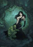 Wood Witch by MattDixon