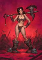 Barbarianne by MattDixon