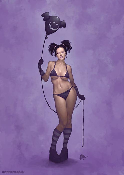 Black Balloon by MattDixon