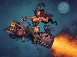 Broom of Doom by MattDixon