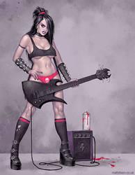 Death Metal Darlin' by MattDixon
