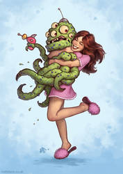 Alien Abduction by MattDixon
