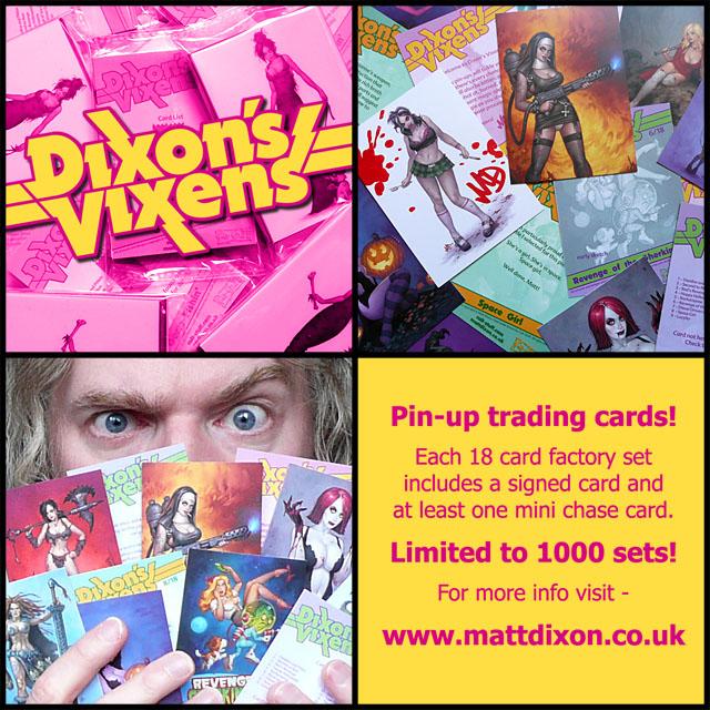 Dixon's Vixens by MattDixon