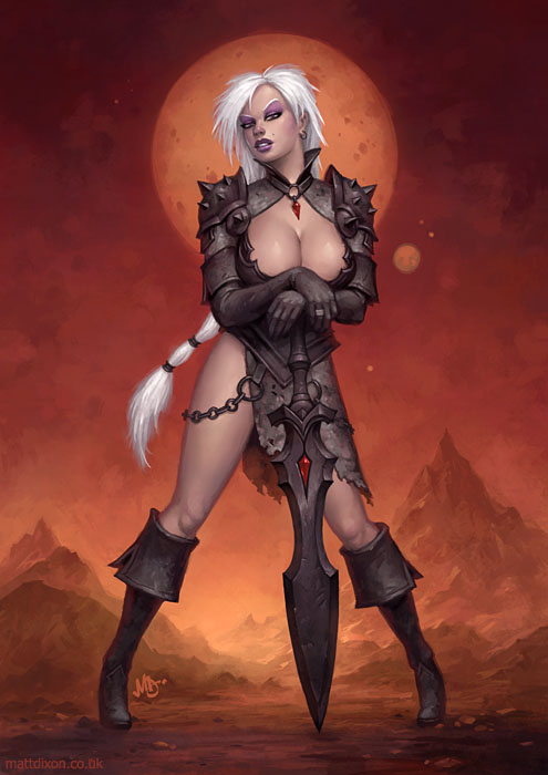 Black Sword by MattDixon