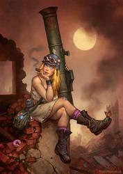 Bazooka Betty by MattDixon