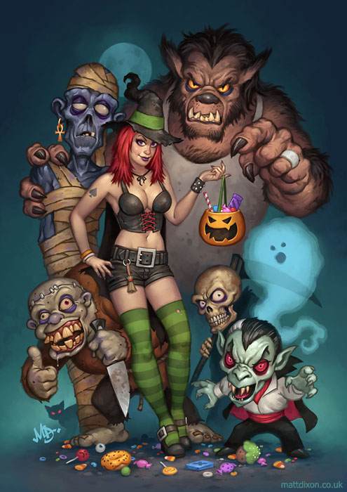 Trick Or Treat by MattDixon
