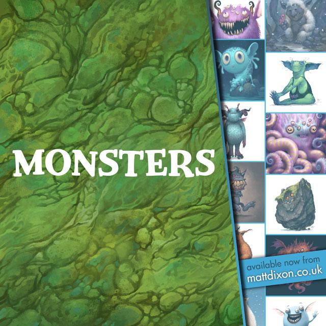 Monsters book by MattDixon