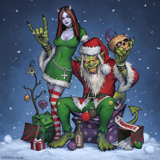 Metal Santa by MattDixon