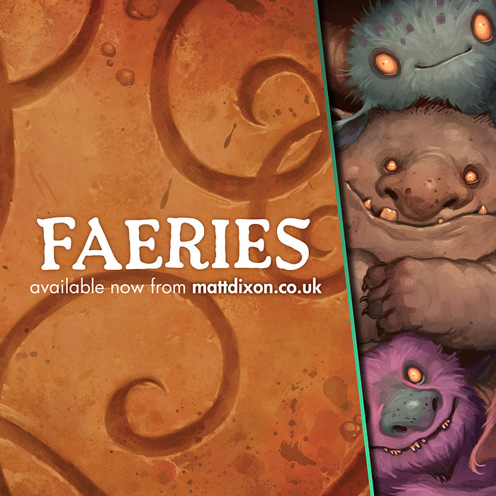 Faeries book! by MattDixon