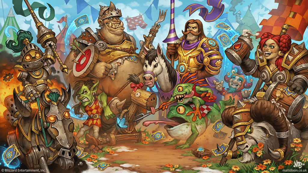 Hearthstone - The Grand Tournament by MattDixon