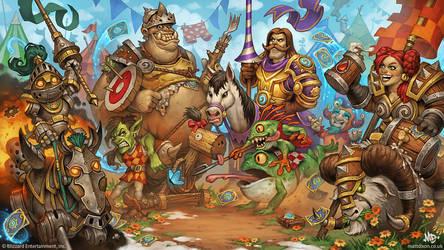 Hearthstone - The Grand Tournament by MattDixon