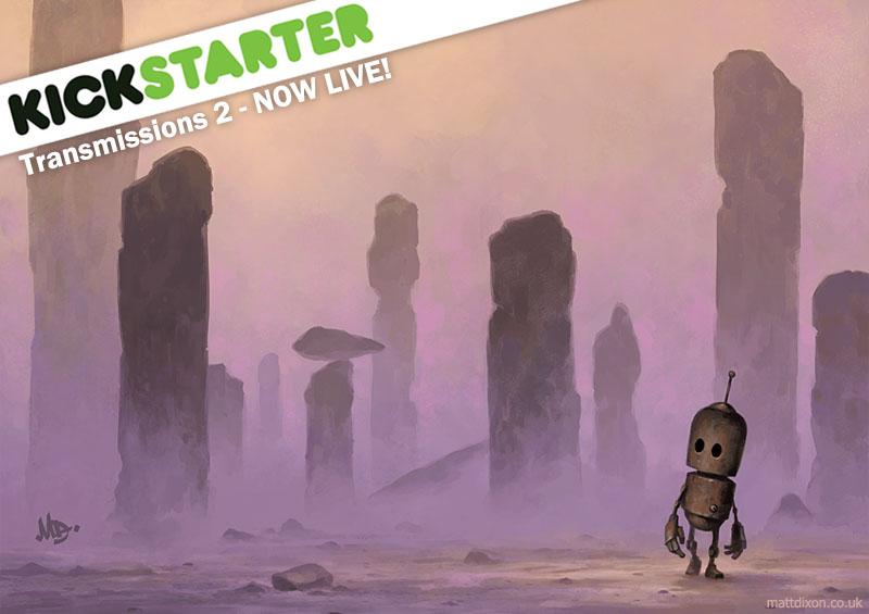 Transmissions 2 Kickstarter by MattDixon