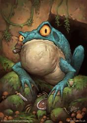Huge Toad by MattDixon