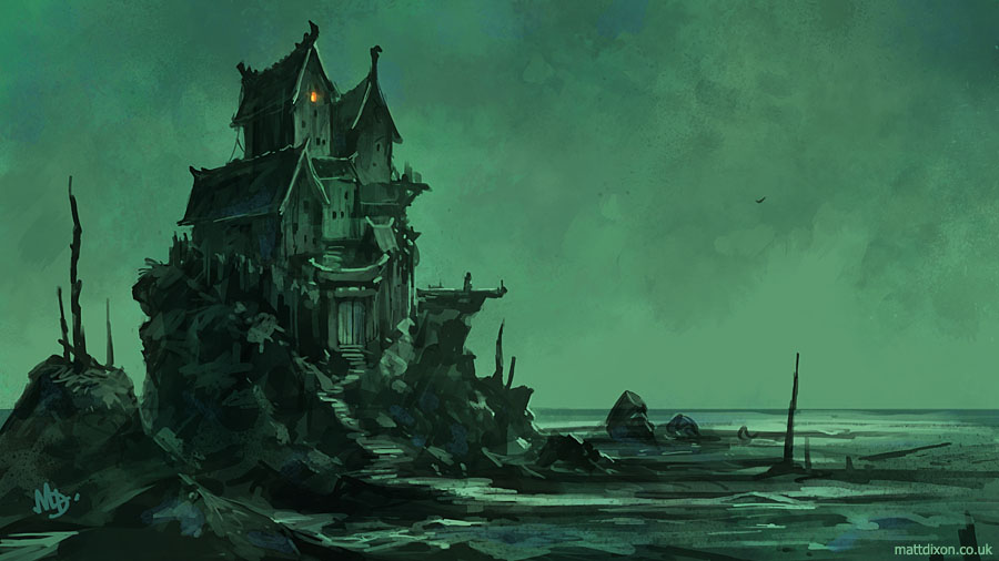 The Witch House by MattDixon