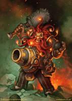 Wickerflame Burnbristle by MattDixon
