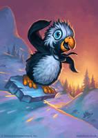 Snowflipper Penguin by MattDixon