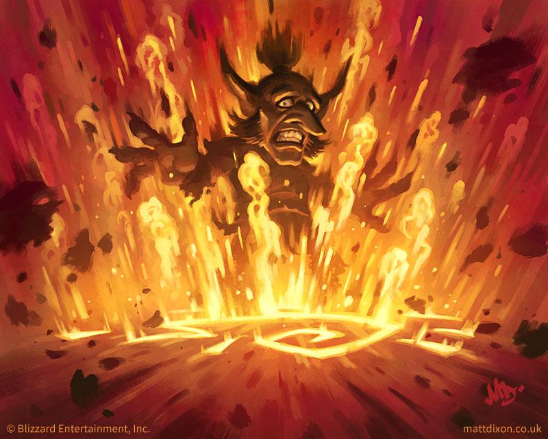 Explosive Runes by MattDixon