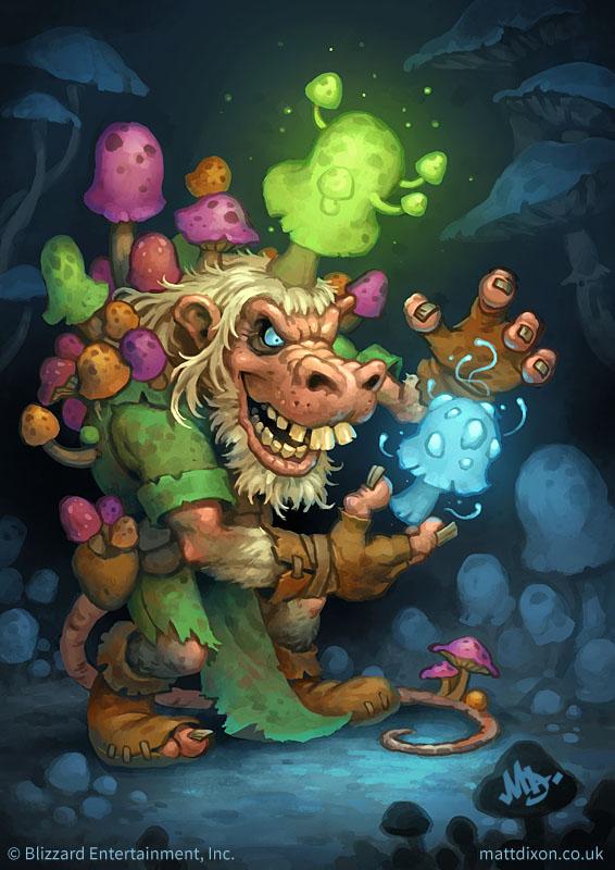 Fungalmancer by MattDixon