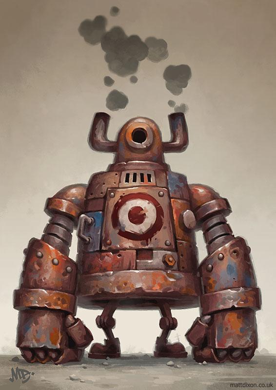 The Pugilist by MattDixon