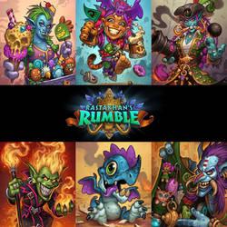 Rastakhan's Rumble Prints by MattDixon