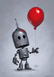 The Red Balloon by MattDixon