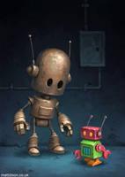 Strange Cousins by MattDixon