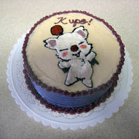 Moogle Cake by omgitsalisa