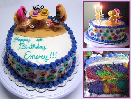 Lalaloopsy Cake by omgitsalisa