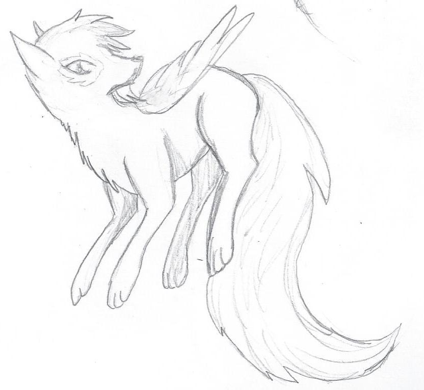 Angelwolf by Michellex0x