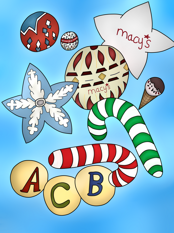 Novelty ornaments - Macy S Novelty Ornaments Balloons By Sonicjasper20th Macy S Novelty Ornaments Balloons By Sonicjasper20th