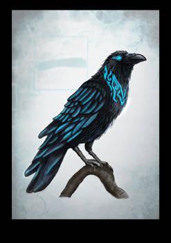Crow Digital Painting 2020