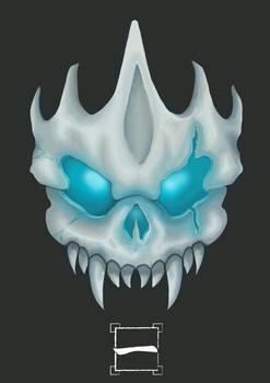 Skull character