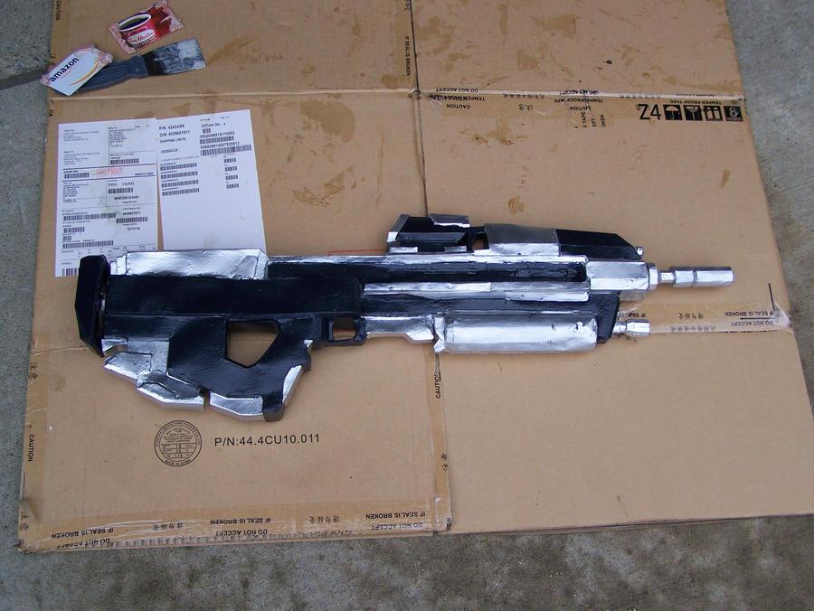 halo reach assault rifle by luke023 on deviantart