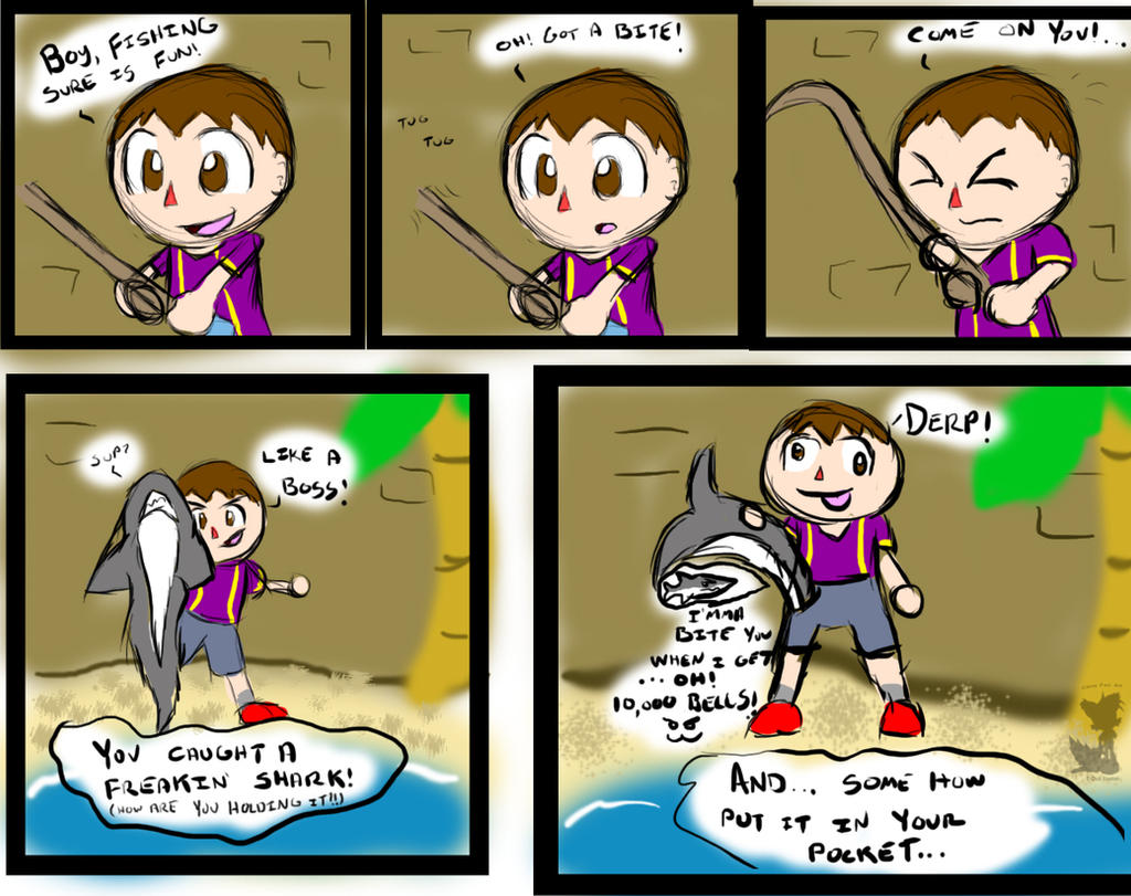 how to catch sharks in animal crossing new leaf